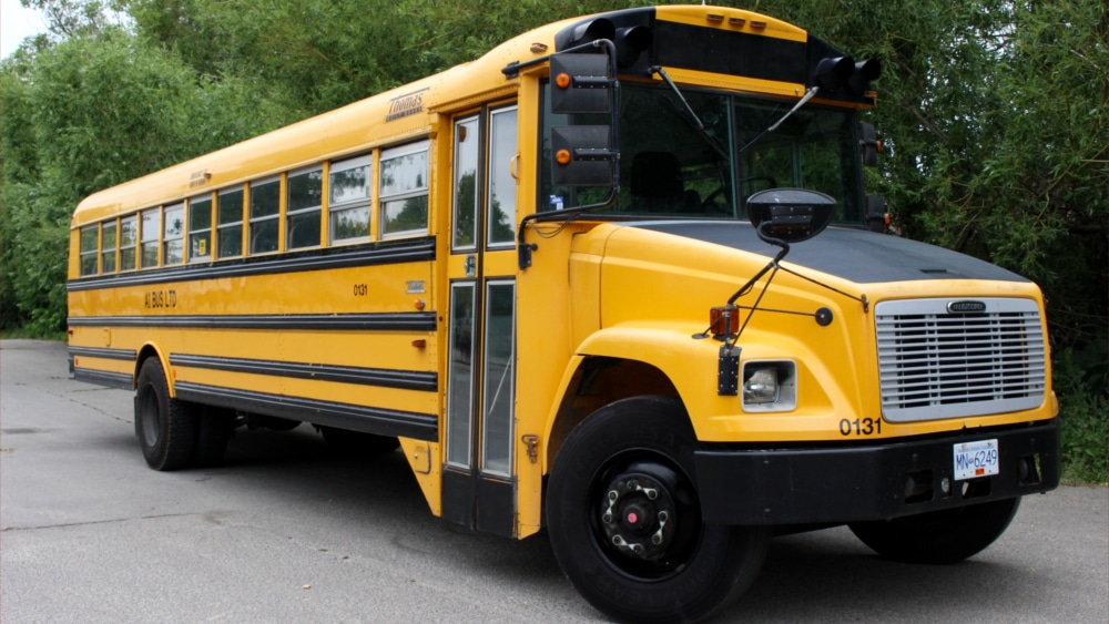A1 Bus - Vernon BC - School Bus Rental Kelowna - Fleet Pictures - 48 Passenger School Bus 1
