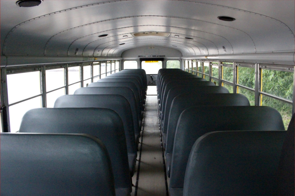 A1 Bus - Vernon BC - School Bus Rental Kelowna - Fleet Pictures - 48 Passenger School Bus 2