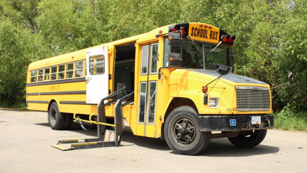 A1 Bus - Vernon BC - School Bus Rental Kelowna - Fleet Pictures - Wheelchair School Bus 2
