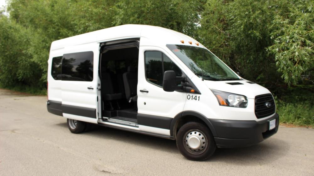 A1 Bus - Vernon BC - Wedding Party Shuttle Bus Service - Fleet Pictures - 15 Passenger Transit Van 2