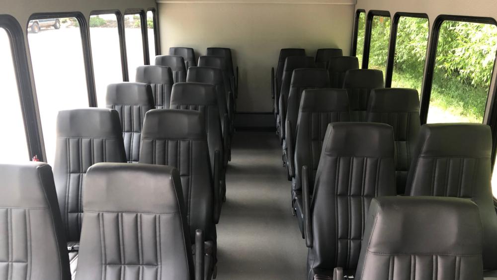 A1 Bus - Vernon BC - Wedding Party Shuttle Bus Service - Fleet Pictures - 24 P Shuttle Bus 2 -2